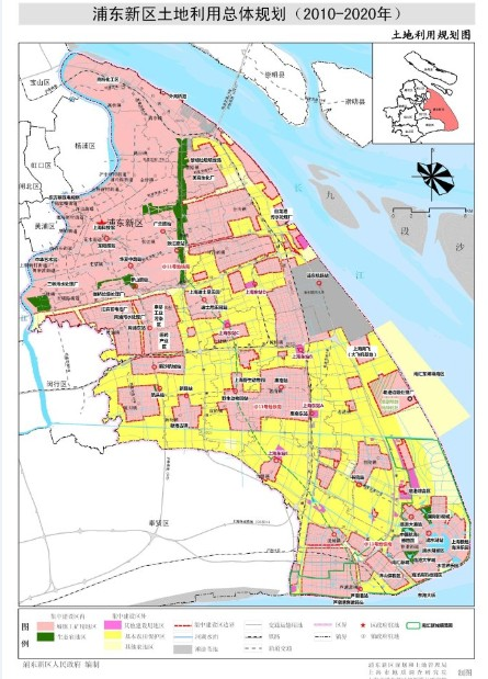 一周城市规划速递 上海浦东土地新规划出炉