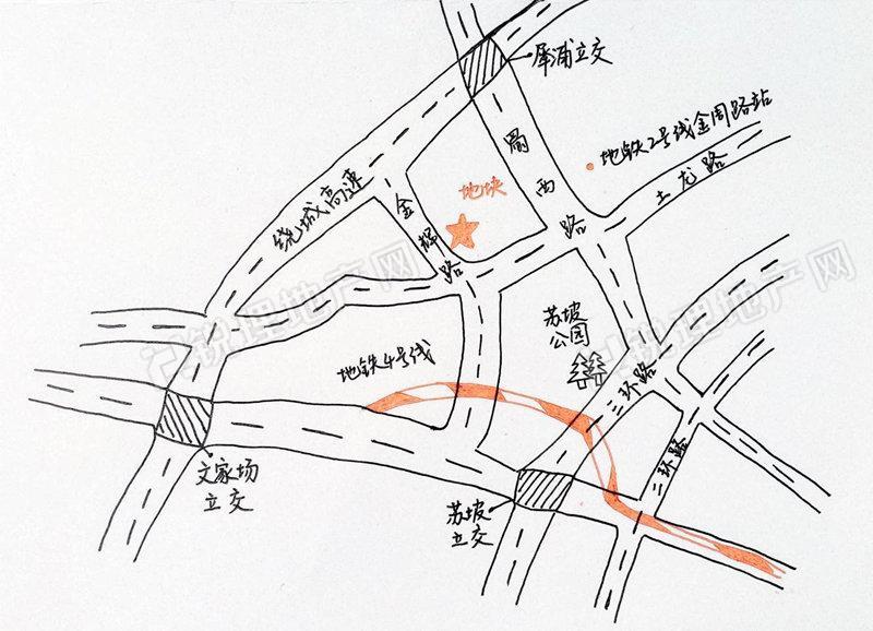 公交站台设计手绘图作业
