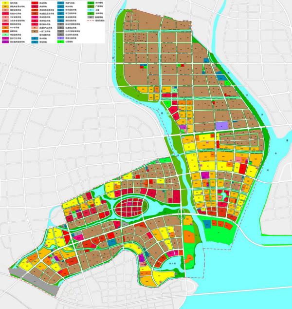 青岛高新区调整中东片区土地利用规划:减少居住与